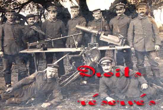 Bergmann Mg15 Na Gun. Bergmann LMG 15 A/a and N/a